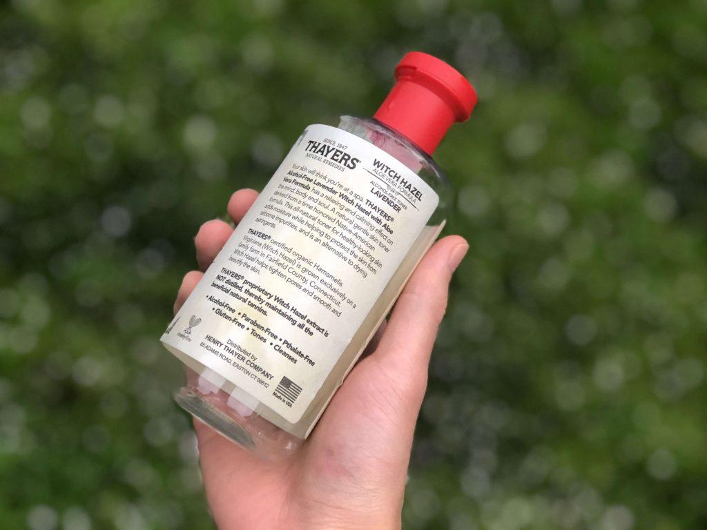 Thayers facial toner lavender product description