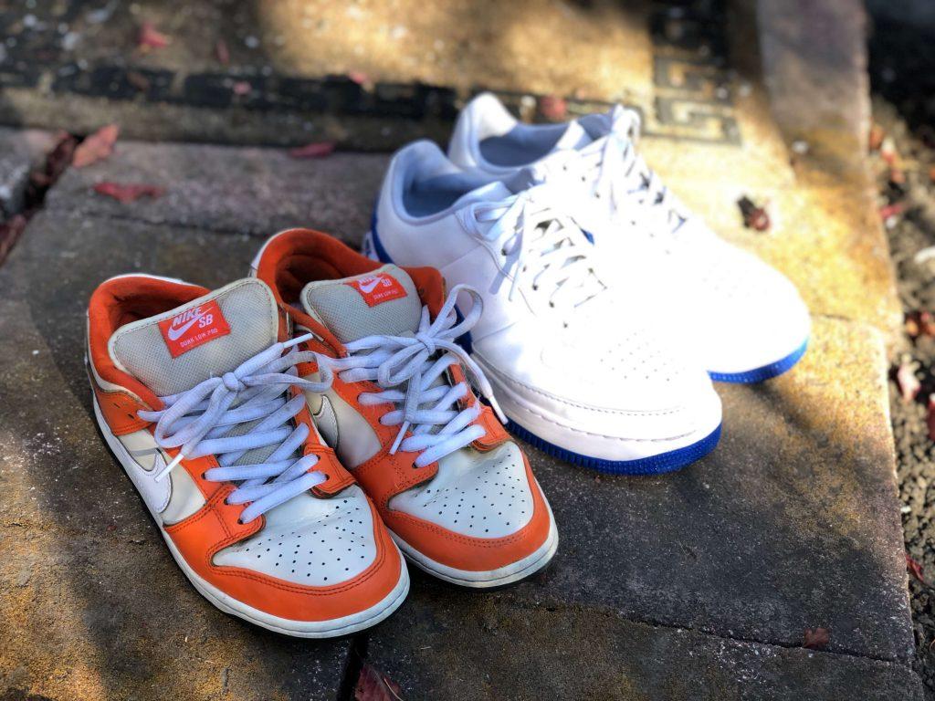 ジェイソンマークでの洗浄後に輝く靴