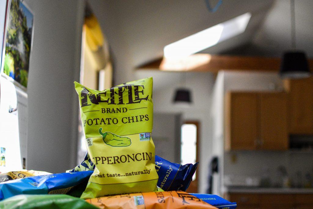 ケトルブランドポテトチップスのペペロンチーニ味