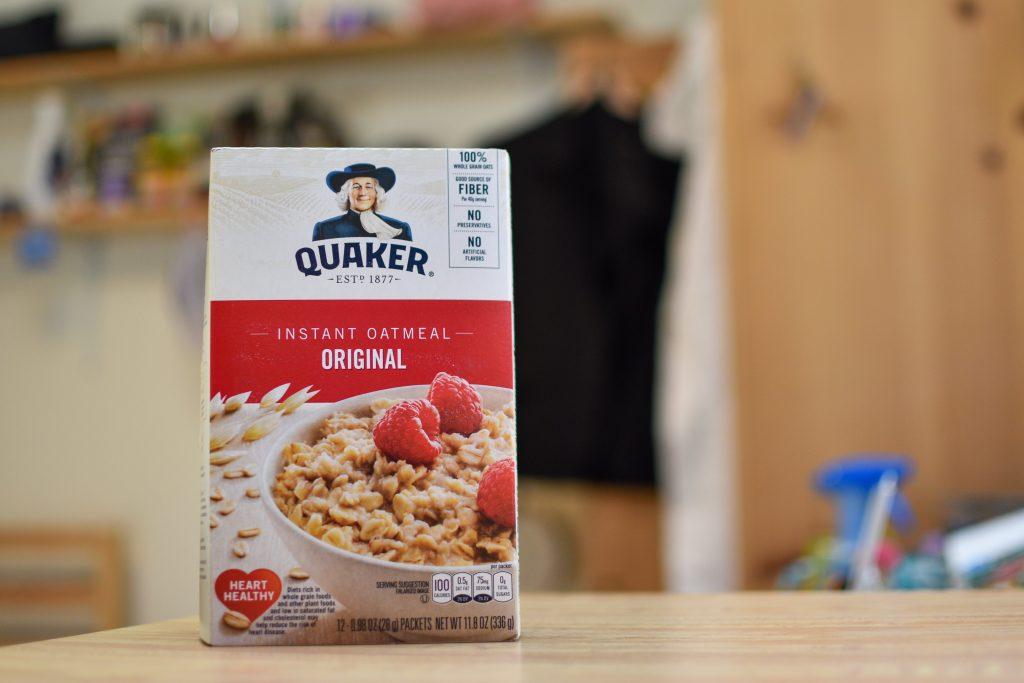 Quaker (クエーカー)インスタントオートミールのオリジナルフレーバー