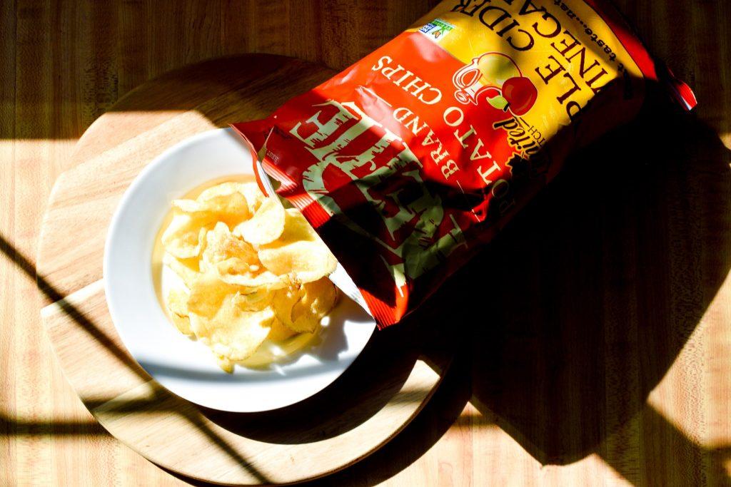 ケトルブランドポテトチップスアップルサイダービネガー味