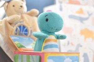 幼児用恐竜のびっくり箱