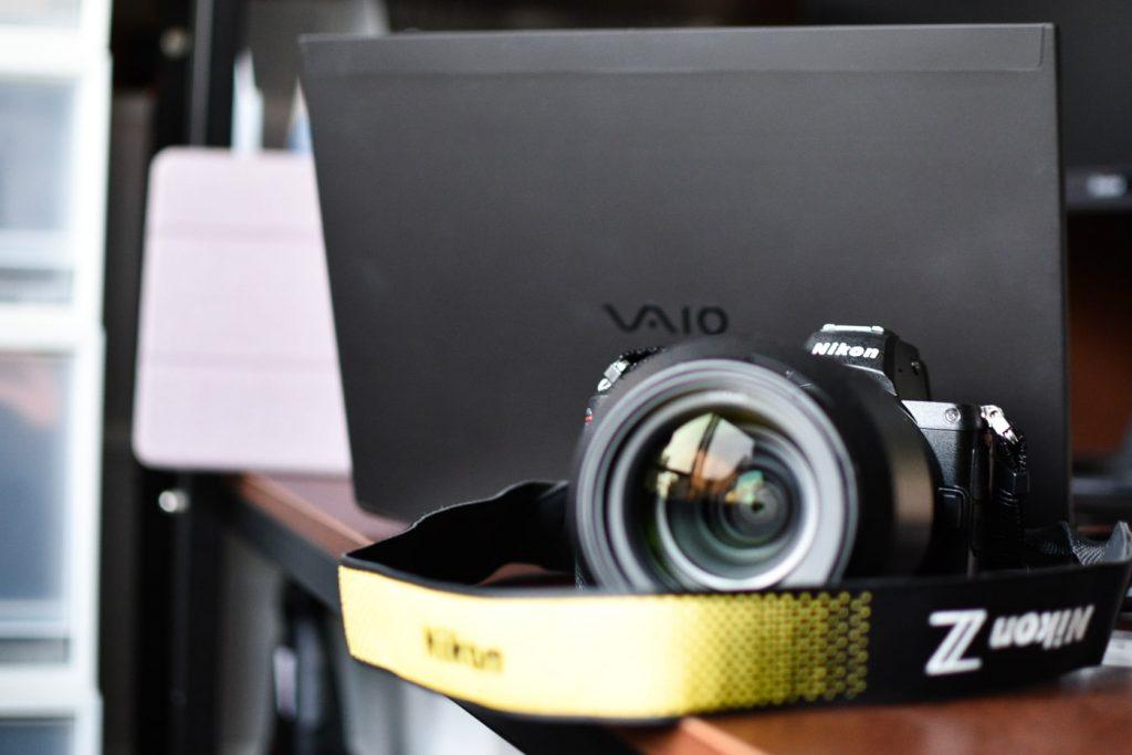 Nikon(ニコン)Z5とVAIO Z